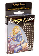 Rough Rider Condom Studded Lubricated 3 Pack