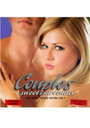 Couples Sweet Surrender His And Hers Edibles 2 Piece Set...