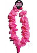 Pink Pecker Light Up Flower Necklace